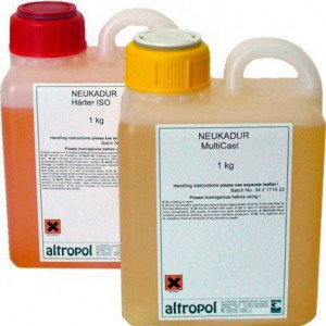 Литьевой пластик Lasso LasilCast 10, 1+1 кг