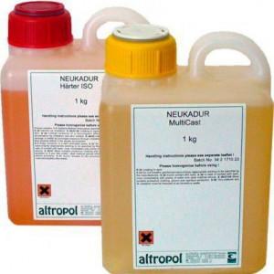 Литьевой пластик Lasso LasilCast 10, 30+30 кг