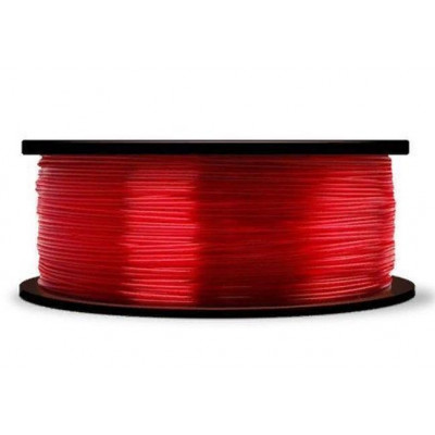 PLA пластик MakerBot 1,75 полупрозрачный красный 0,9 кг