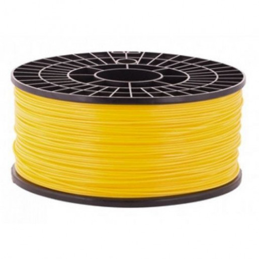 PLA пластик 1,75 Мастер-Пластер желтый 1 кг