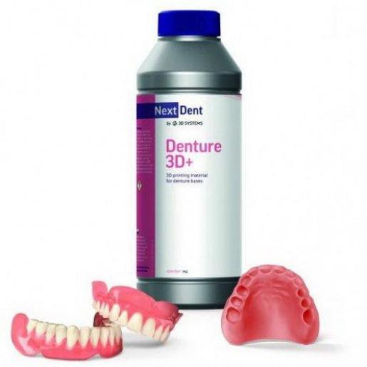 Фотополимер NextDent Denture 3D+ светло-розовый