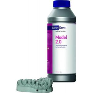 Фотополимер NextDent Model 2.0 белый
