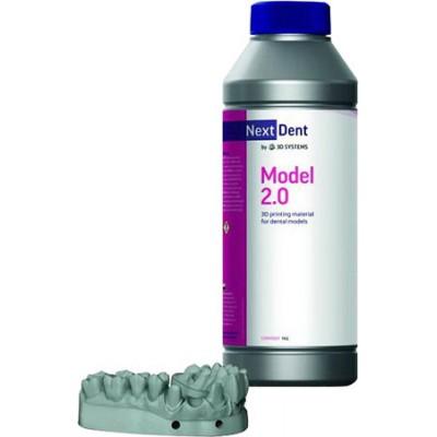 Фотополимер NextDent Model 2.0 бежевый