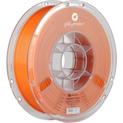 PLA пластик Polymax 1,75 оранжевый 0,75 кг