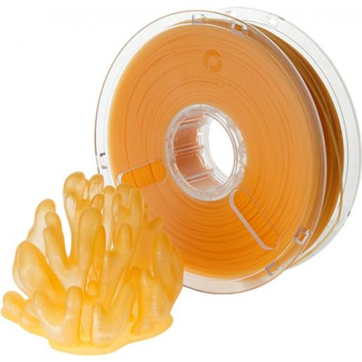 Polymaker PolyPlus PLA 1,75 оранжевый прозрачный 0,75 кг