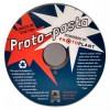 PLA Proto-pasta композитный 1,75 мм электропроводящий графит 0,5 кг