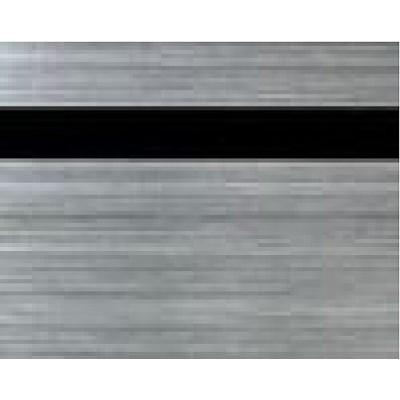 Пластик SCX-176 сатиновое серебро/черный 1200х600х0,8 для лазерной обработки