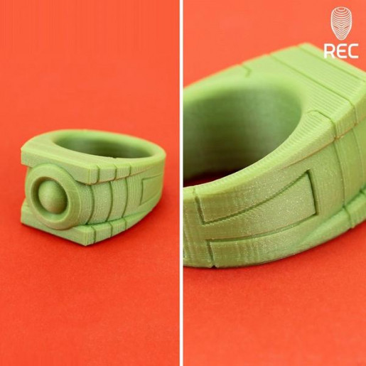 PLA пластик 1,75 REC фисташковый металлик 0,75 кг