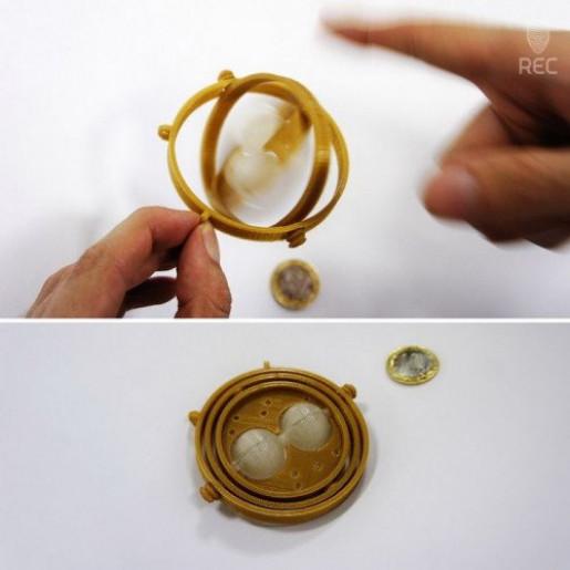 PLA пластик 2,85 REC золотой RAL1036 2 кг