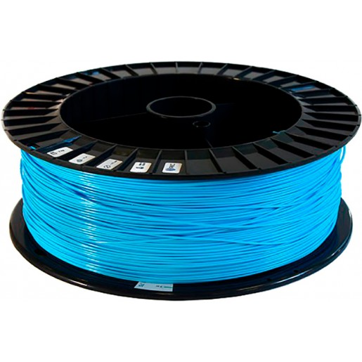 PLA пластик 2,85 REC голубой 2 кг
