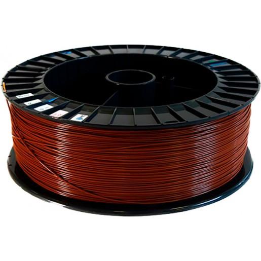 PLA пластик 2,85 REC коричневый 2 кг