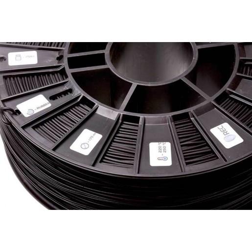 RUBBER 1,75 мм REC черный RAL9004 0,75 кг