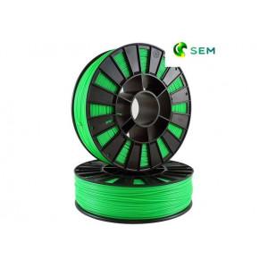 ABS пластик 2,85 SEM флуоресцентный зеленый 1 кг