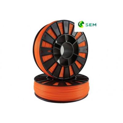 ABS пластик 2,85 SEM оранжевый 1 кг