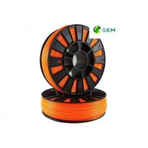 PLA пластик 1,75 SEM флуоресцентный оранжевый 1 кг
