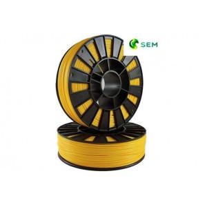 PLA пластик 1,75 SEM желтый 1 кг