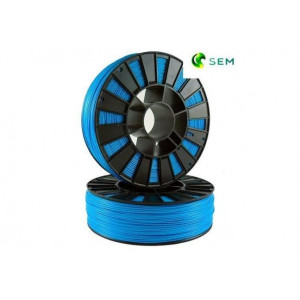 PLA пластик 1,75 SEM голубой 1 кг