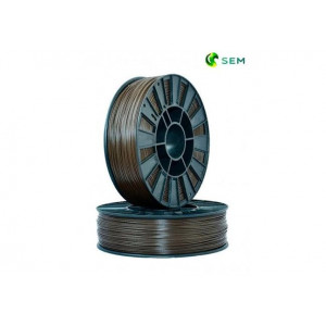 PLA пластик 1,75 SEM коричневый 1 кг