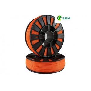 PLA пластик 1,75 SEM оранжевый 1 кг
