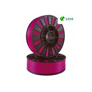 PLA пластик 1,75 SEM розово-малиновый 1 кг