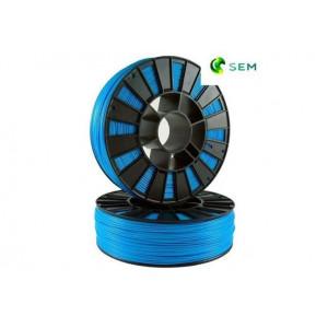 PLA пластик 1,75 SEM синий 1 кг