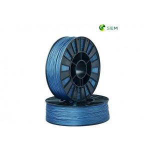 PLA пластик 1,75 SEM синий металлик 1 кг