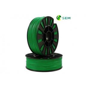 PLA пластик 1,75 SEM темно-зеленый 1 кг