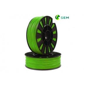 PLA пластик 1,75 SEM зеленый 1 кг