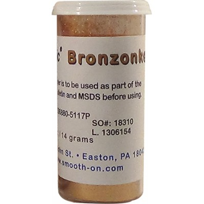 Smooth-On Cast Magic Bronzonker