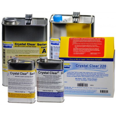 Smooth-On Crystal Clear 220, 0,79 кг