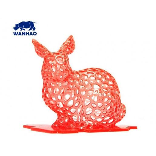 Фотополимерная смола Wanhao 1 л красный