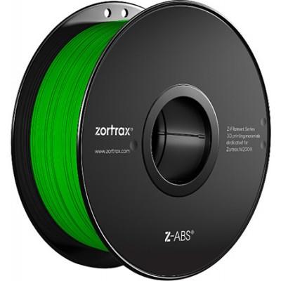 Нить Zortax Z-ABS, 1,75 мм зеленая