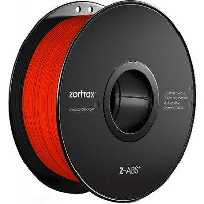 Нить Zortax Z-ABS, 1,75 мм красная
