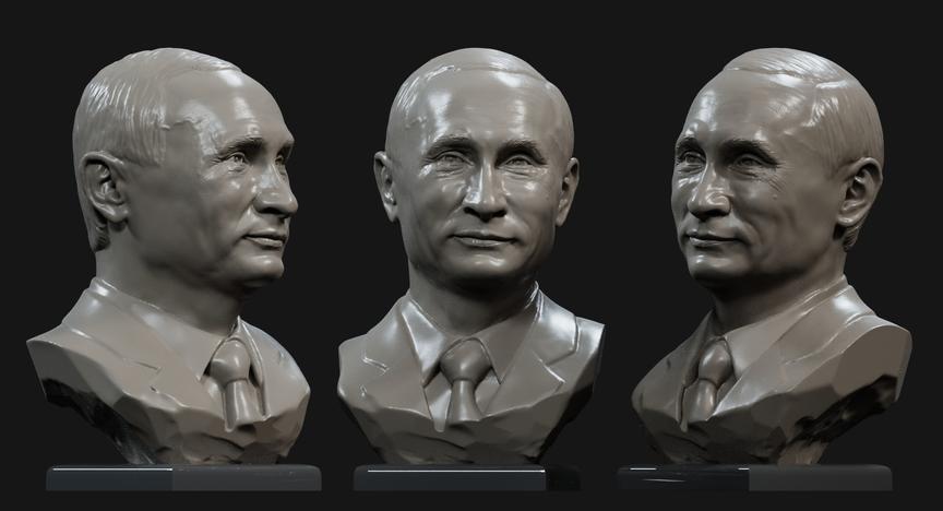 3д-модель президента