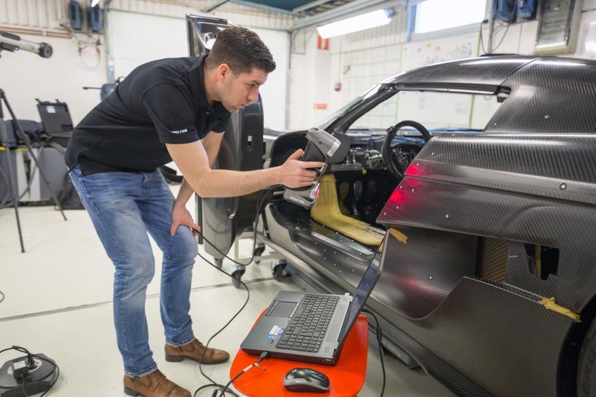 сканирование автомобиля