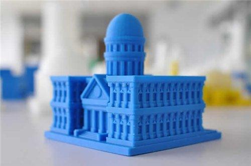 макет здания из пластика