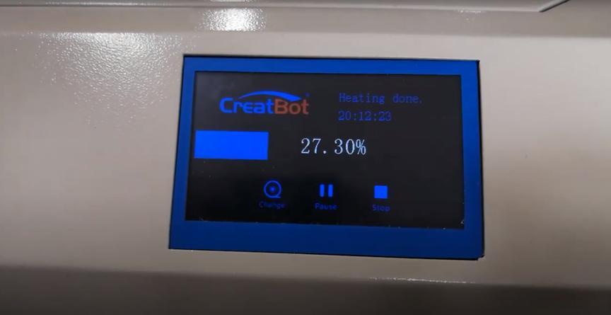 дисплей 3D-принтера CreatBot F430 PEEK