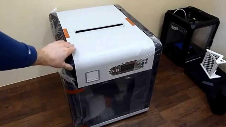 принтер в упаковке