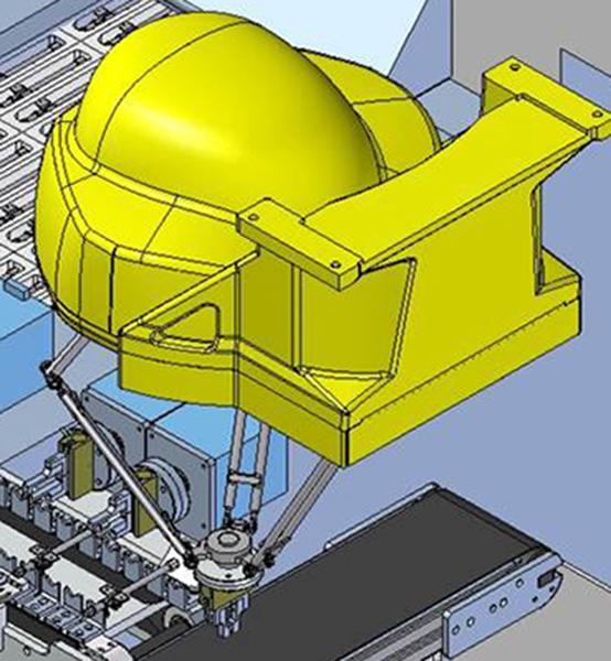фото Робот M-1iA, на конвейере от Flexlink