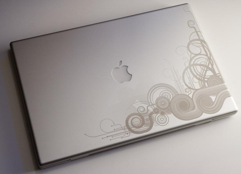 ноутбук с гравировкой