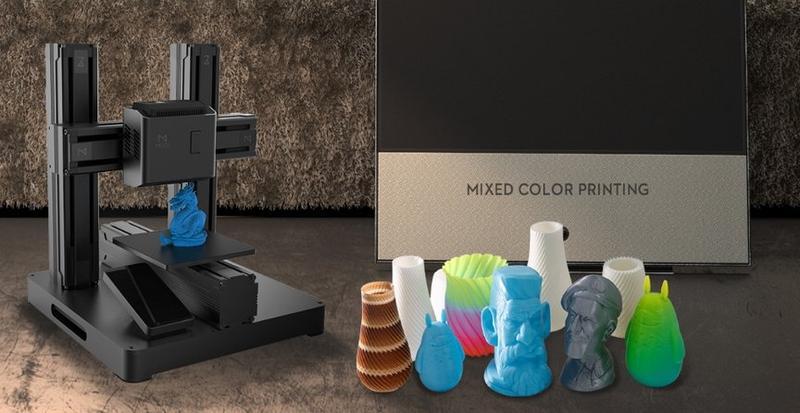 печать разных пластиковых фигурок