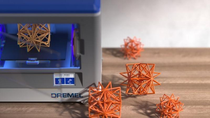 3D принтер Dremel 3D20 и головоломка
