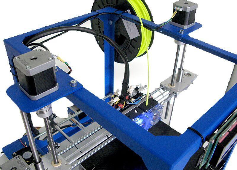 3д принтер и материал