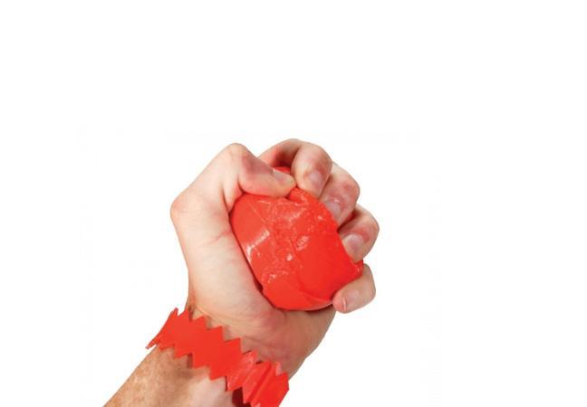 шар в руке