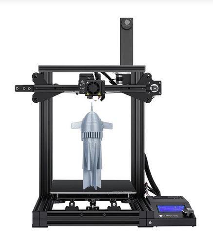 печать ракеты на принтере