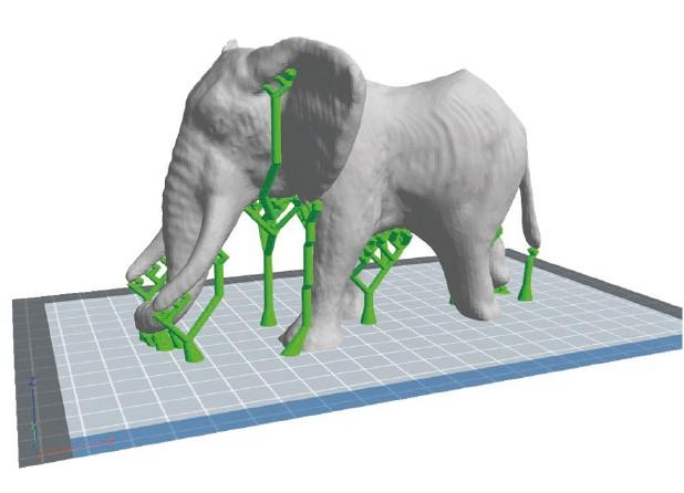 модель слона