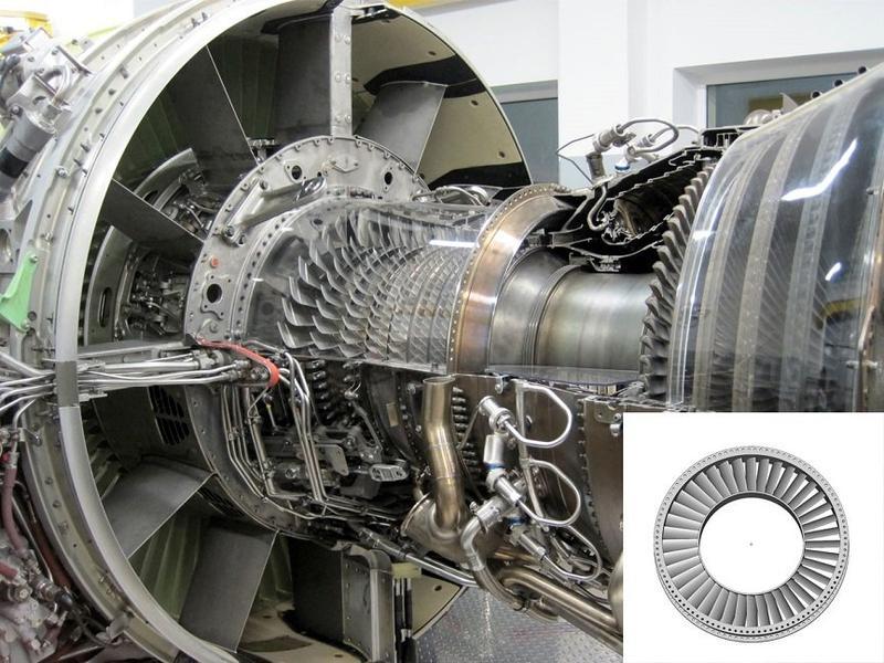 часть большой турбины