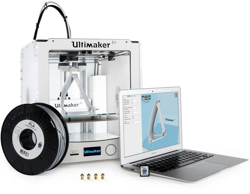 3D принтер Ultimaker 2 Extended Plus