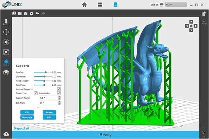 3D принтер Uniz3D Slash Plus UDP