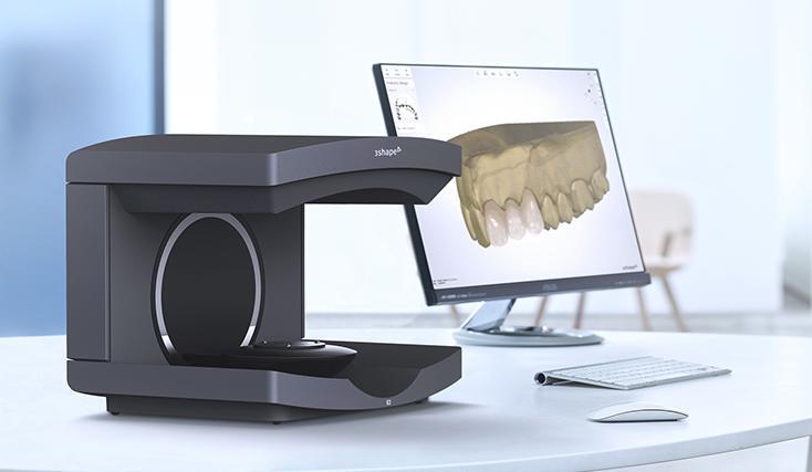 сканер на столе